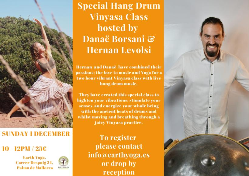 Hang Drum _ Vinyasa Class-3